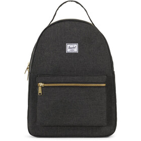 Herschel Nova Mid-Volume Rugzak, black crosshatch